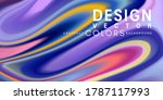 colorful abstract background... | Shutterstock .eps vector #1787117993