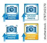 upload your photo image icon... | Shutterstock .eps vector #1787142170