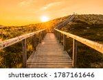 Sylt Island Sunrise Scenery...