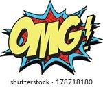 omg | Shutterstock .eps vector #178718180