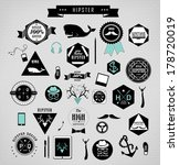 hipster style elements  icons... | Shutterstock .eps vector #178720019