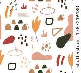 contemporary art seamless...   Shutterstock .eps vector #1787219480