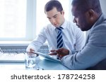 image of two young businessmen... | Shutterstock . vector #178724258