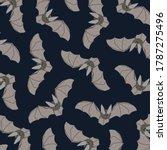 bats pattern.print for... | Shutterstock .eps vector #1787275496
