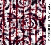 seamless tie dye pattern on... | Shutterstock . vector #1787291150