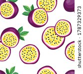 hand drawn seamless pattern... | Shutterstock . vector #1787329373