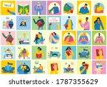 vector concept illustrations of ... | Shutterstock .eps vector #1787355629