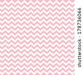 Pink Vintage Card  Zigzag...