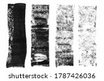 Macro Photo Of Black Lino Ink...