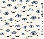 Various Evil Eyes Hand Drawn...