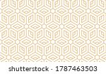 the geometric pattern with... | Shutterstock .eps vector #1787463503