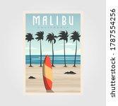Malibu California Beach Vintage ...