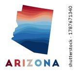 Arizona Map. Map Of The Us...