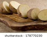 Rustic Organic Potatoes