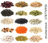 Selection Of Various Legumes On ...