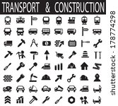 construction and transport | Shutterstock .eps vector #178774298