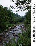 beautiful picturesque river in... | Shutterstock . vector #1787763596