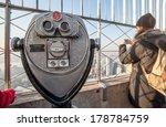 Binocular On Empire State...