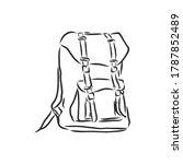 vector sketch illustration... | Shutterstock .eps vector #1787852489