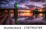 Wilford Suspension Bridge At...