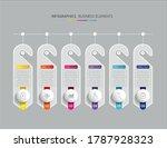 vector elements for infographic.... | Shutterstock .eps vector #1787928323
