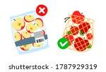 ban single use plastic  stop... | Shutterstock .eps vector #1787929319