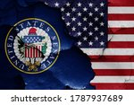Flags Of United States Senate...