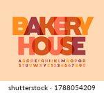 vector creative logo bakery... | Shutterstock .eps vector #1788054209