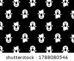 ghost icon for halloween. black ... | Shutterstock .eps vector #1788080546