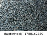 Gravel Gray Rock Background...
