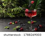 Fresh Berries Cocktail With...