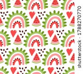 colorful seamless pattern with...   Shutterstock .eps vector #1788270770