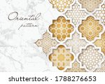 Oriental Pattern. Vector Golden ...