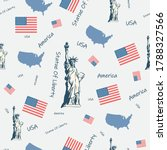 usa  united states of america... | Shutterstock .eps vector #1788327566