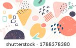 scandinavian color abstraction. ... | Shutterstock .eps vector #1788378380