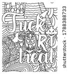 trick or treat coloring book... | Shutterstock .eps vector #1788388733