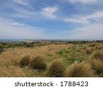 View of Philip island (Australia, Victoria) - stock photo