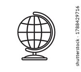 geography tool icon over white... | Shutterstock .eps vector #1788429716