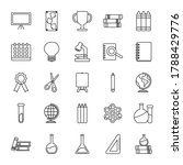 icon set of geography tool and... | Shutterstock .eps vector #1788429776