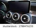 Luxury car air conditioning control panel