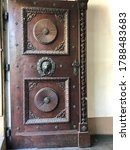Large Gothic Wooden Doors With...