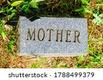 Mother Engraved On A Granite...
