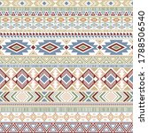 aztec american indian pattern... | Shutterstock .eps vector #1788506540