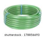 green hose pipe on white... | Shutterstock . vector #178856693
