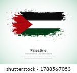 independence day of palestine... | Shutterstock .eps vector #1788567053
