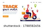 track your order   food...   Shutterstock .eps vector #1788582656