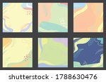 simple pastel background for... | Shutterstock .eps vector #1788630476