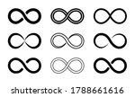 symbol of infinity. icon of... | Shutterstock .eps vector #1788661616