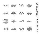 Sound And Radio Waves Flat Line ...