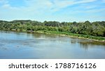 Landscape Of The River In The...
